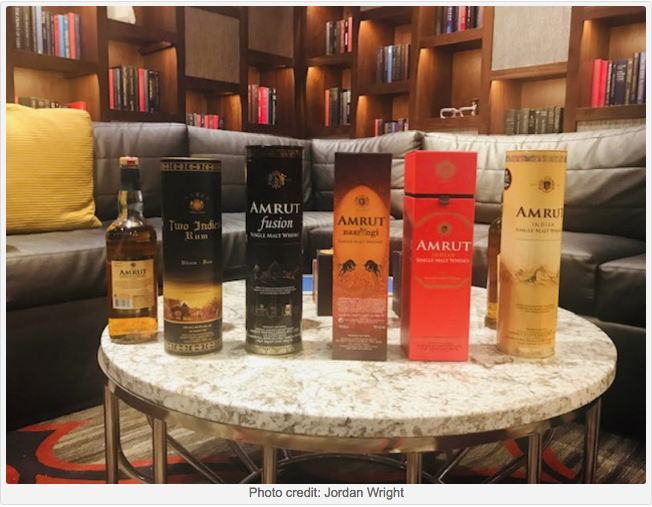 Jordan Wright, from Whisk and Quill writes about Amrut on the world stage