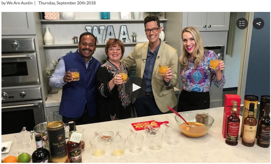 CBS WE ARE AUSTIN: RUM PUNCH DAY