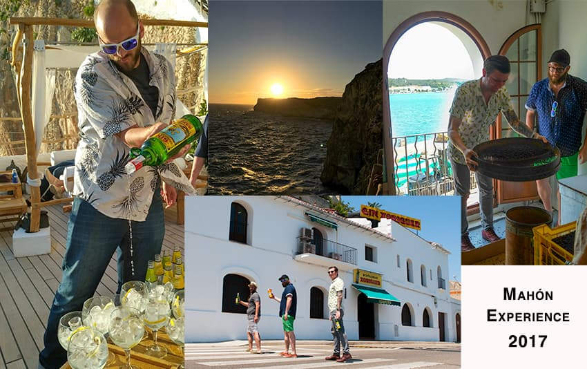 Our 2017 guests visiting the Island of Menorca, Spain