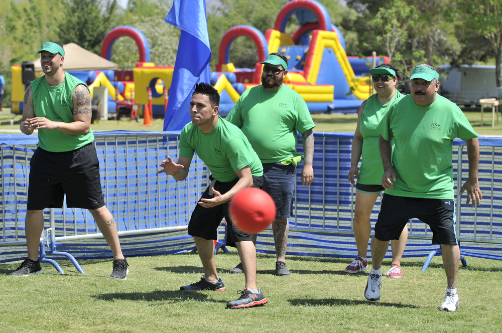 Dodgeball - Outdoors
