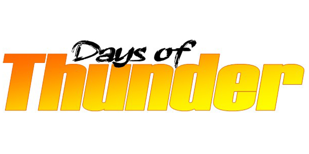 Days of Thunder - Logo