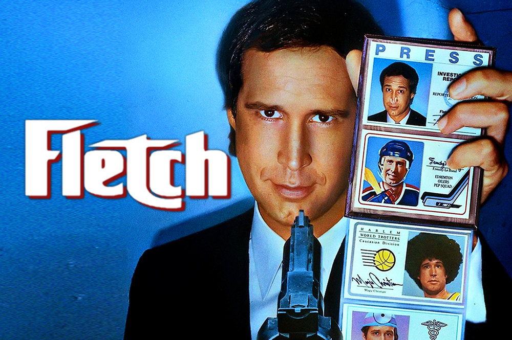Fletch the movie poster