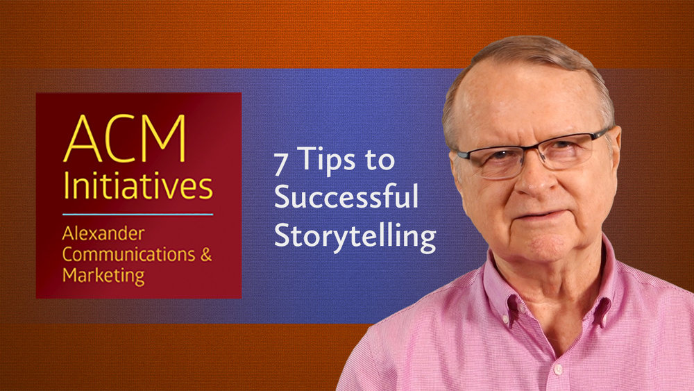 7 tips to Successful Storytelling