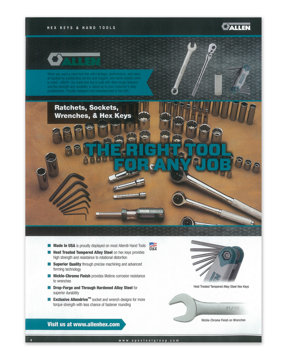 Apex Tools Catalog     Feature Page (2014)