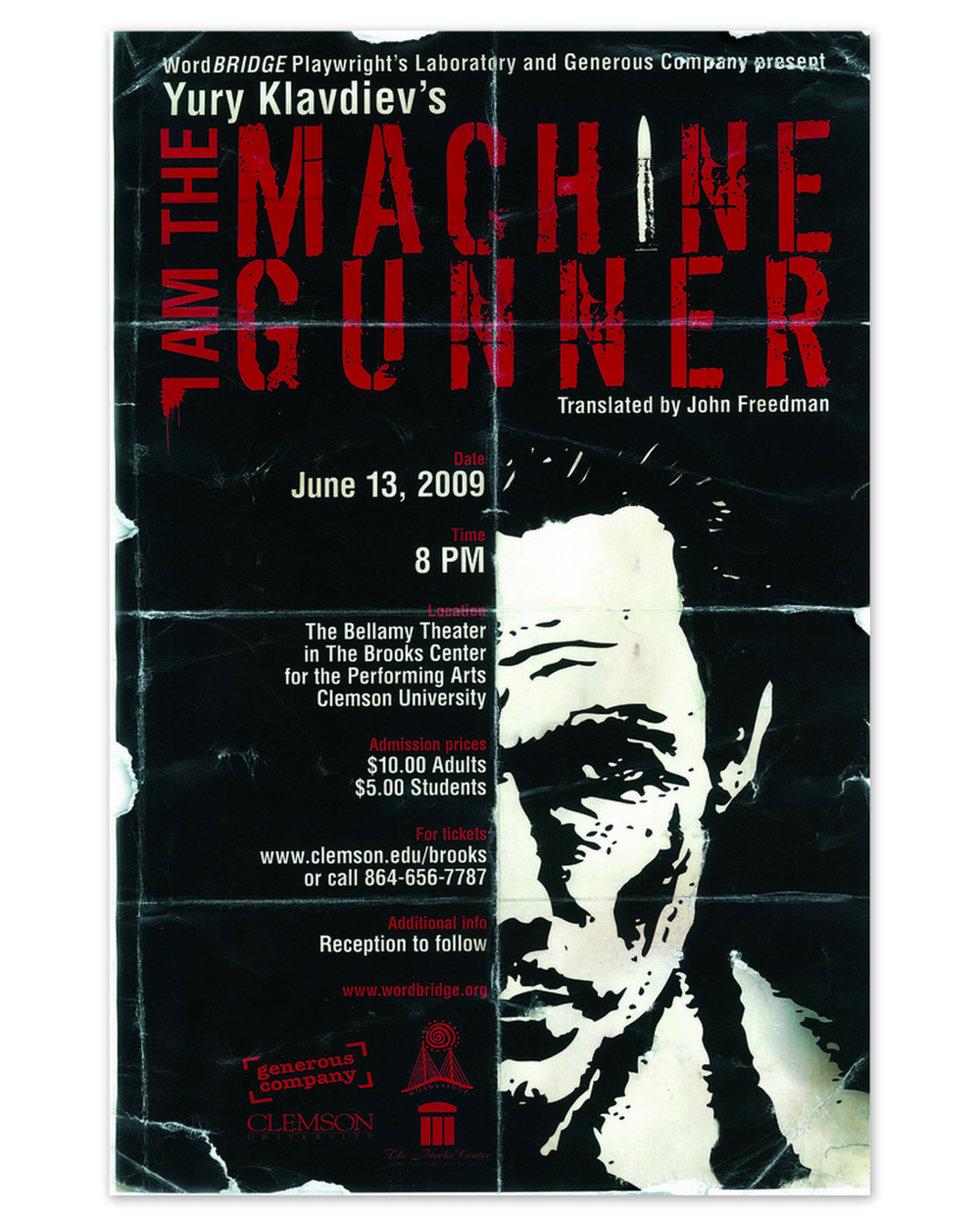 I Am The Machine        Gunner Poster (2009)
