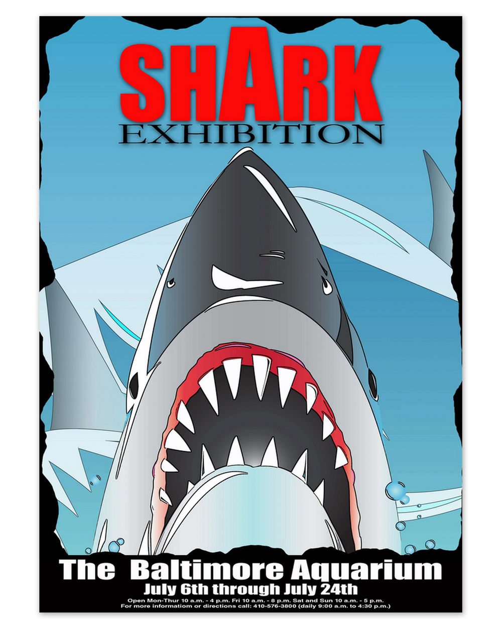 Shark Exhibition Poster (2008)
