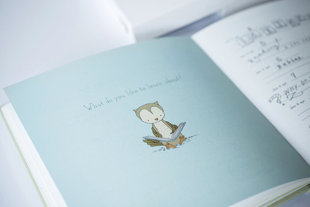 Echo Art Bindery's Baby Book
