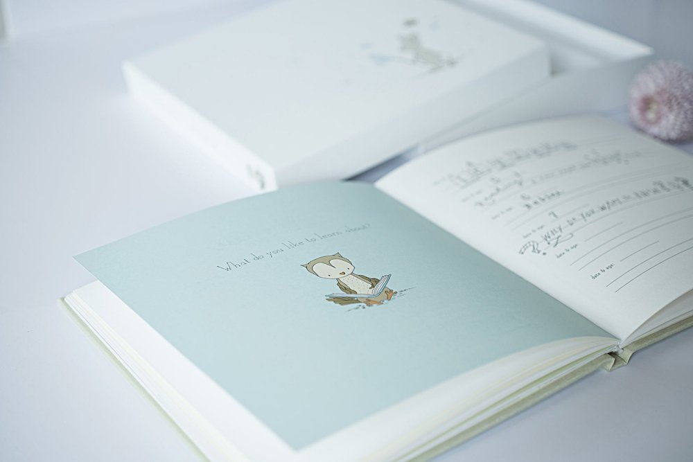 Copy of Copy of Baby Memory Book with Keepsake Box