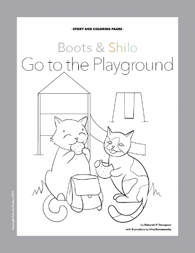 Boots and Shilo go to the Playground