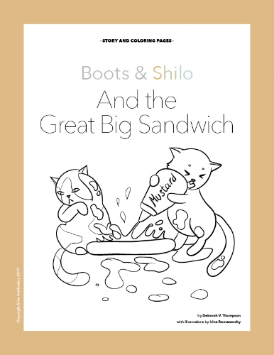 Boots and Shilo and the Great Big Sandwich