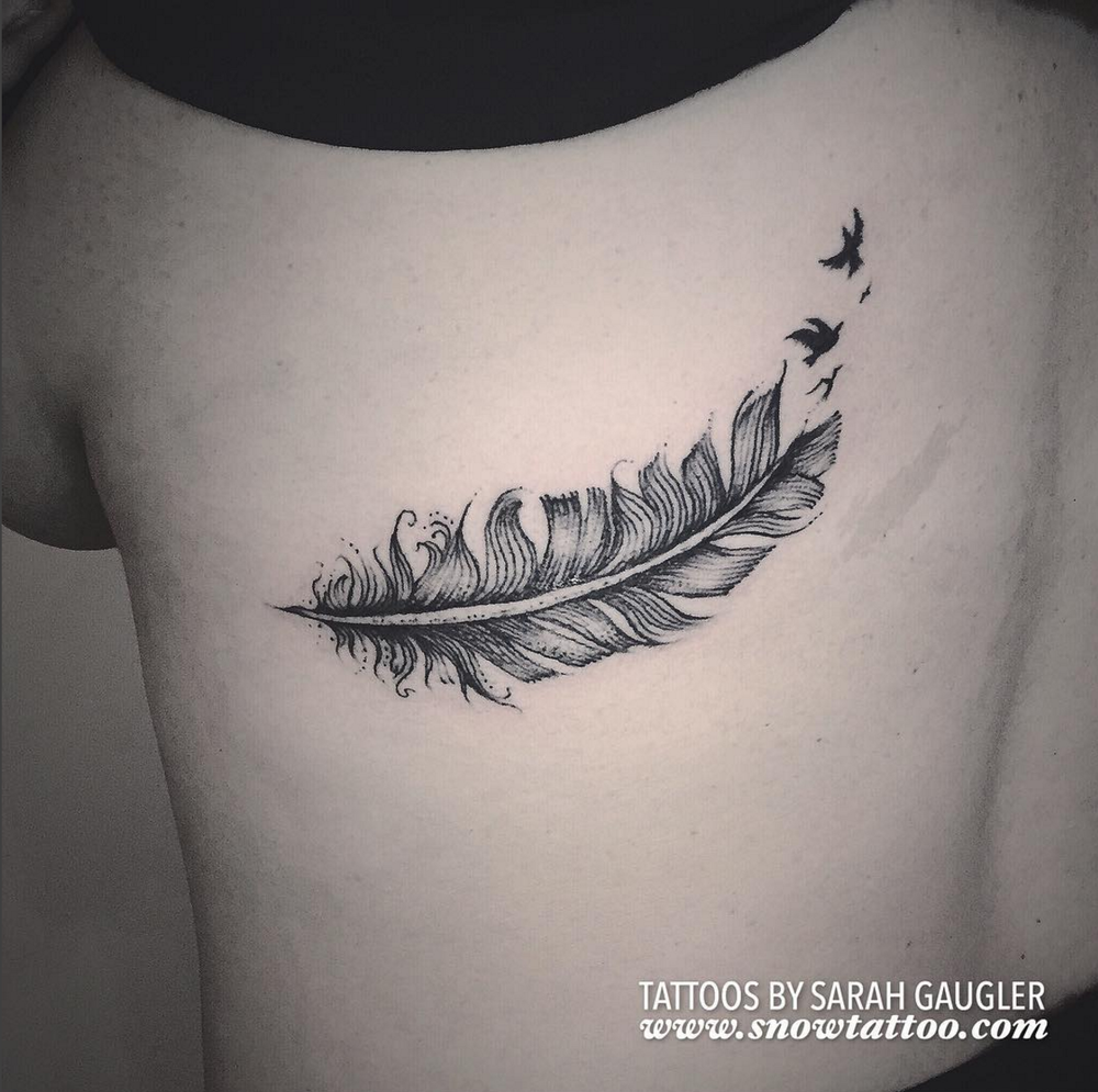 Cusotm+Feathers_Feather+Tattoo+Line+Art+Original+Flash+Tattoo+by+Sarah+Gaugler+at+Snow+Tattoo+New+York+NYC.jpg