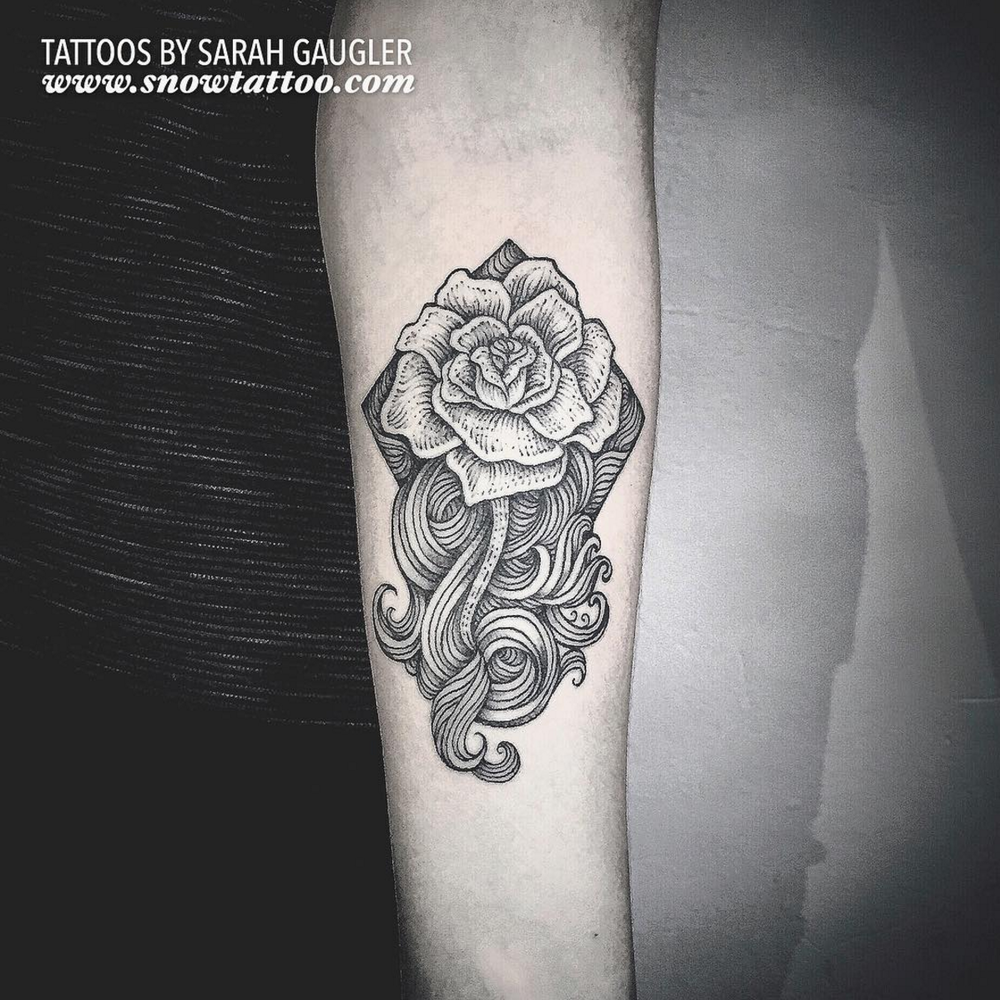 Cusotm+RoseTattoo+Rose+Sea+Geometric+Diamond+Tattoo+Line+Art+Original+Flash+Tattoo+by+Sarah+Gaugler+at+Snow+Tattoo+New+York+NYC.jpg