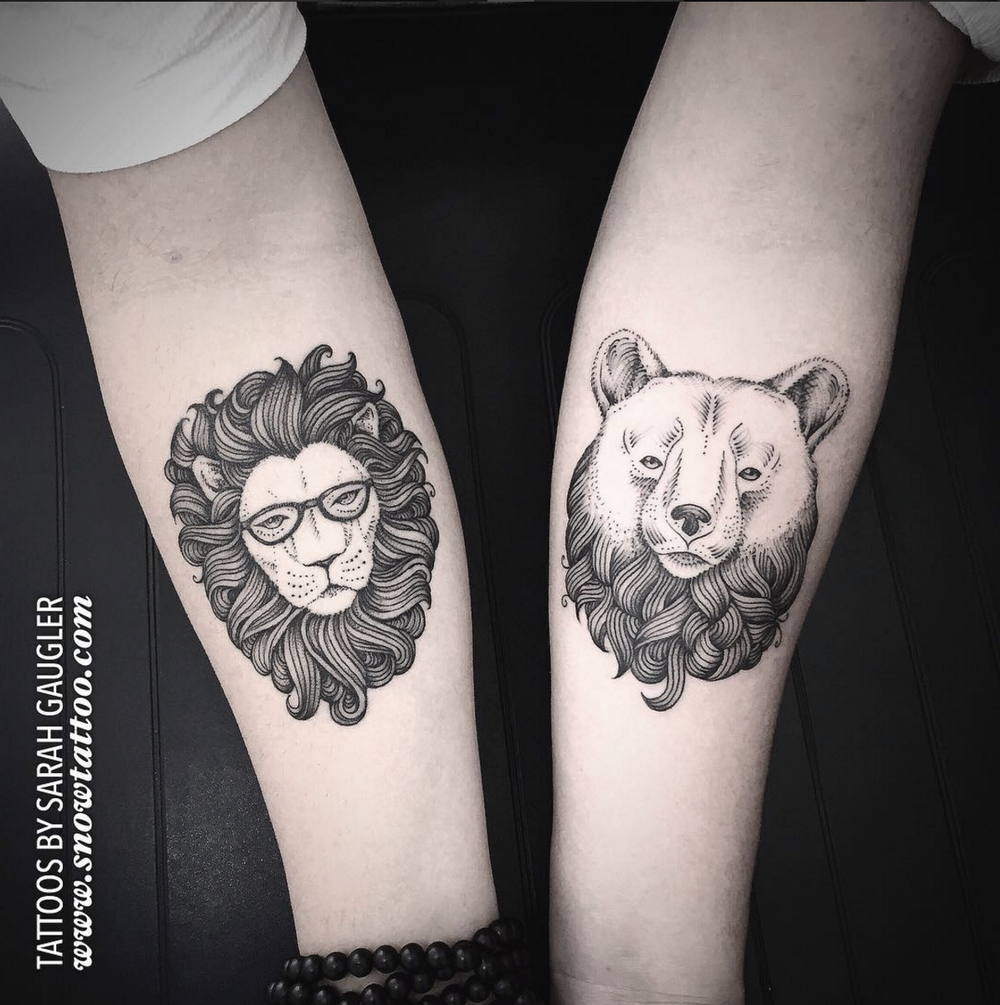 Sarah Gaugler Snow Tattoo Custom Bear Lion Linework Finelinetattoo Detailed intricate Fine Line New York Best Tattoos Best Tattoo Artist NYC.png