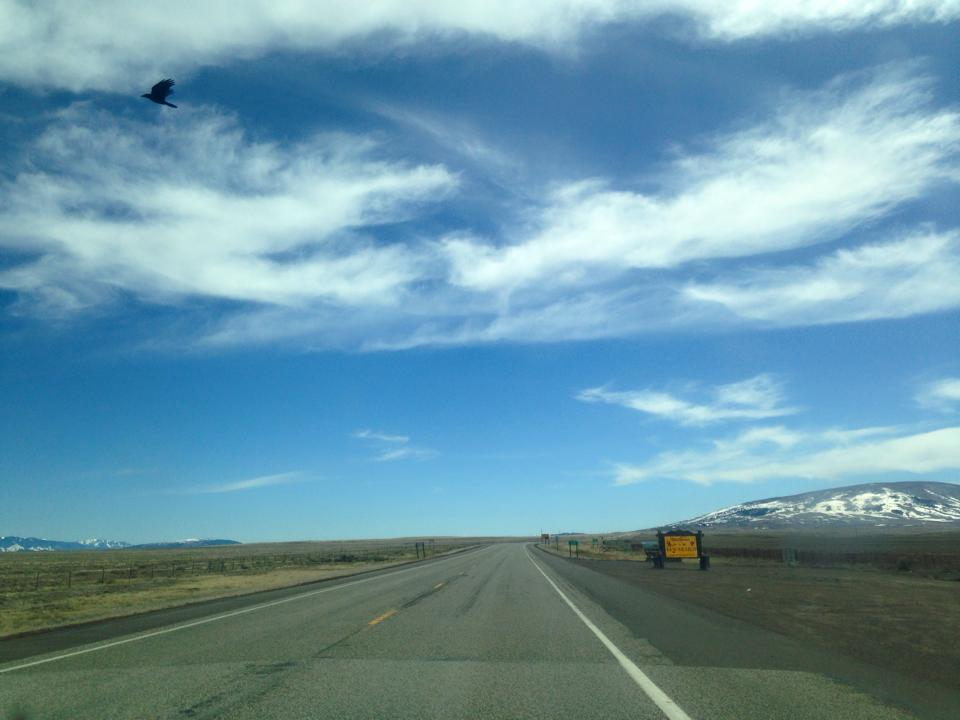 entering New Mexico, March 26 2015