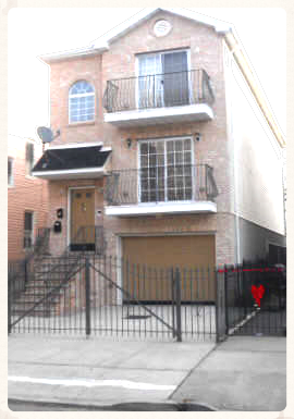 PROPERTY INFORMATION City                          Newark Neighborhood        Lower Clinton Hill Year Built                 2007 Residence Type      Stacked Duplex Square Feet            2,751 Lot Size                   25 x 110 Garage                    1 Car; driveway fits 1 car Features                  2nd Fl has 3 BR/2 BA                                   G/1st Fl has 5 BR /                                       2.5 BA