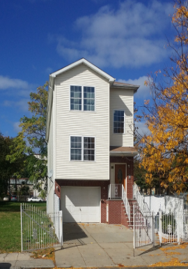 PROPERTY INFORMATION City                          Newark Neighborhood        Lower Clinton Hill Year Built                 2004 Residence Type      Stacked Duplex Square Feet            2,625 Lot Size                   25 x 105 Garage                    1 Car; driveway fits 2 cars Features                 2nd fl has 3 BR/2 BA                                 G/1st Fl has 5 BR/3 BA