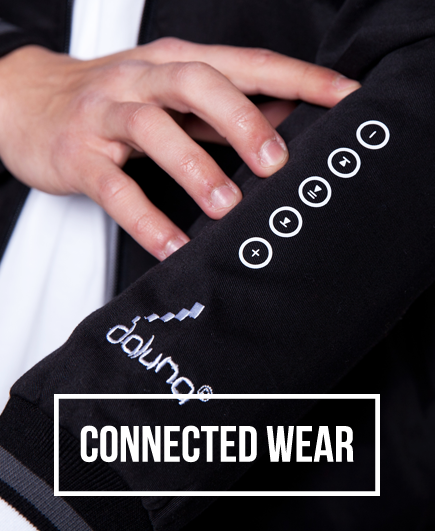 DALUNA'S EXCLUSIVELY APPLIED CONNECTED WEAR TECHNOLOGY.