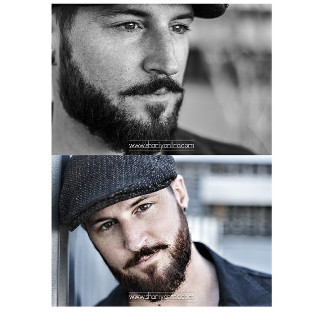 Sneak peek of my photo shoot with musician @joel_s_jorgensen_ #menwithbeards #beards #portrait #naturallight #hat #photography #shariyantraphotography #musician #joeljorgensen      www.shariyantra.com
