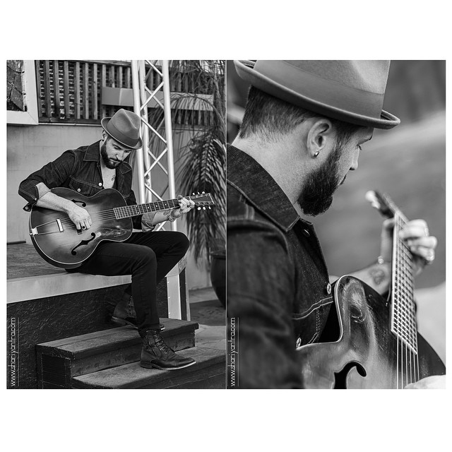 Sneak peek of my photo shoot with musician Joel Jorgensen @joel_s_jorgensen_ #musician #singersongwriter #singer #joeljorgensen #menwithbeards #beards #naturallight #thudstudios #guitar #blackandwhite #blackandwhitephotography #photography #portrait #shariyantraphotography      www.shariyantra.com