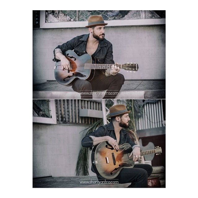 Photo shoot with musician Joel Jorgensen @joel_s_jorgensen_ #menwithbeards #beards #portrait #musician #guitar #singersongwriter #singer #photography #thudstudios #shariyantraphotography     Photo by Shari Yantra Marcacci 2014   www.shariyantra.com