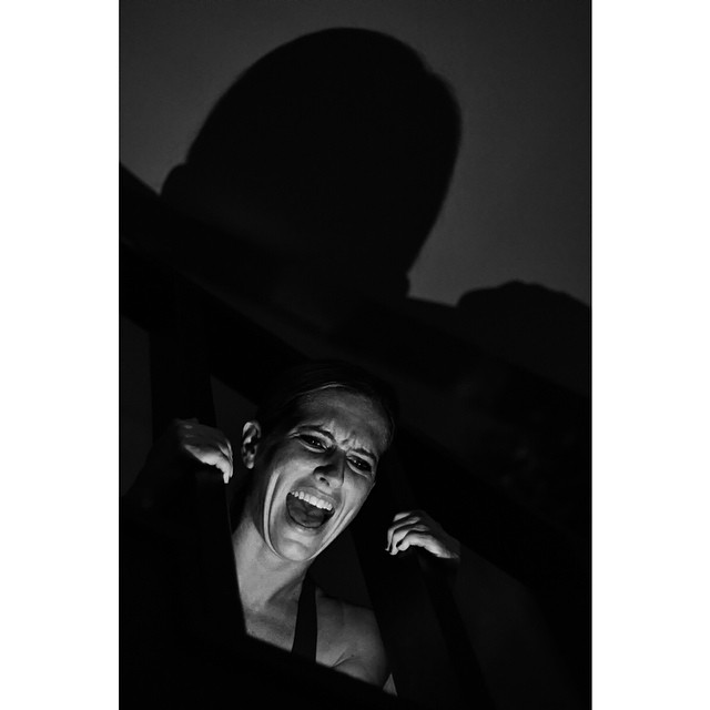 Sometimes I scream, but nobody hears me…  #portrait #scream #dark #blackandwhite #blackandwhitephotography #photography #shadows #shariyantraphotography     Photo by Shari Yantra Marcacci