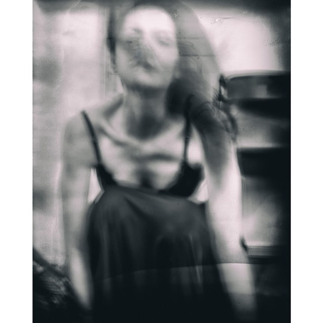 Paula du Gelly  Photo by Shari Yantra Marcacci  #portrait #wetplate #shadows #slowshutter #motion #magical #mistery #dancer #portrait #blackandwhite #blackandwhitephotography #allshots_ #bnw_society #bnw_captures #bnwhisperers #shariyantraphotography