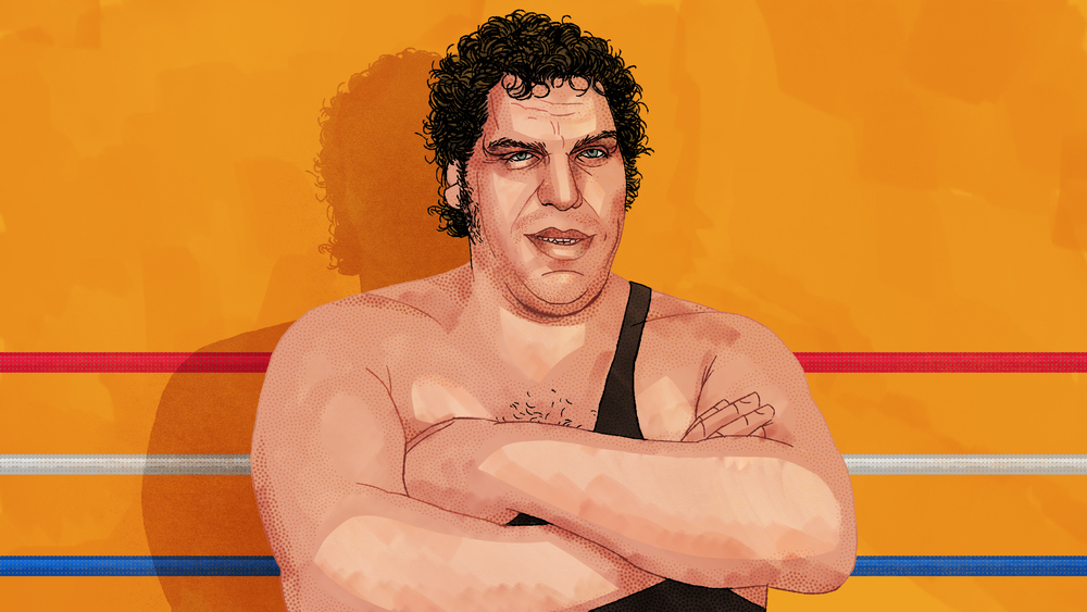 André the Giant for   The Biggest Man