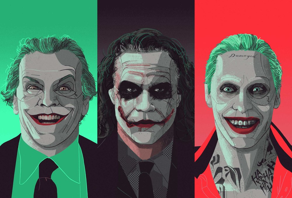 Jokers for Jared Leto's Very Big Joke