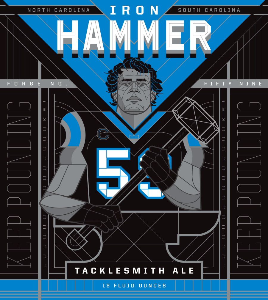 Iron Hammer Ale with Luke Kuechly