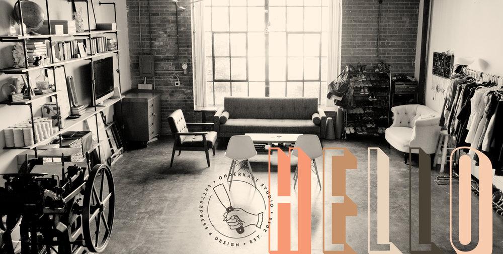 onderkast letterpress & design studio