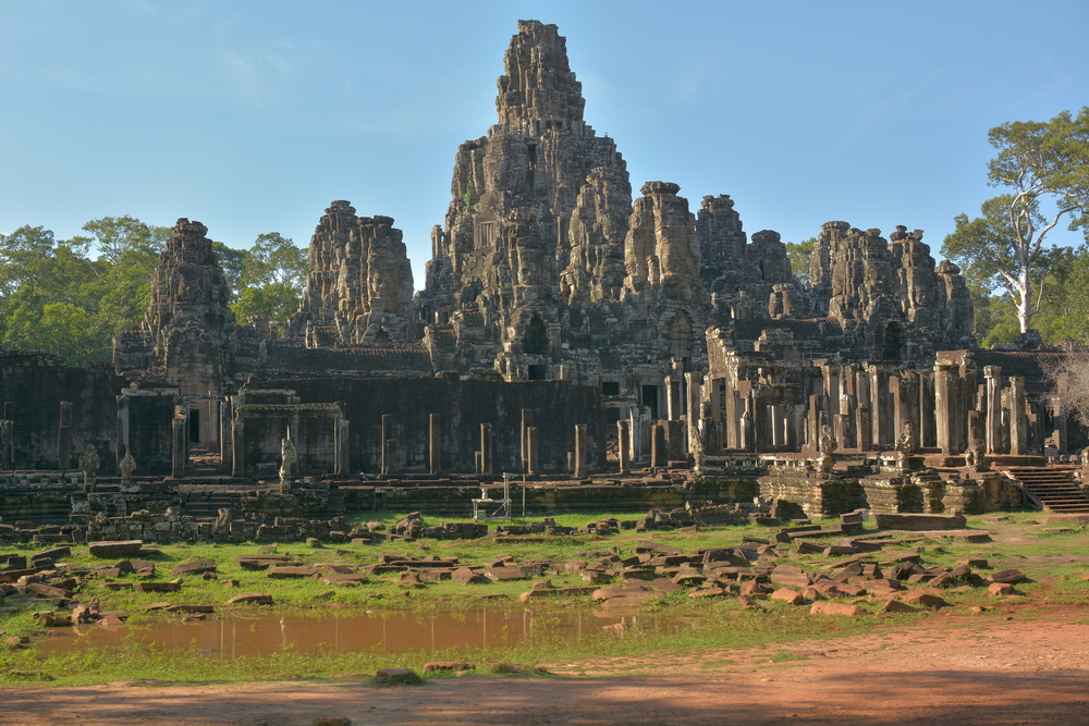 Bayon Temple, Angkor Temple complex, Siem Reap