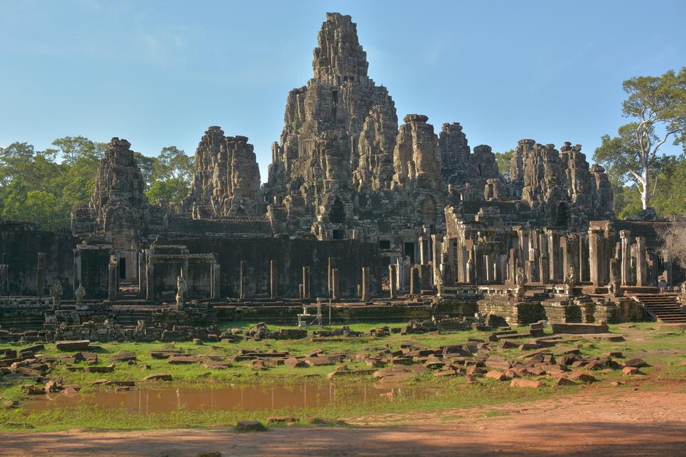 Bayon Temple, Angkor Temple complex, Siem Reap