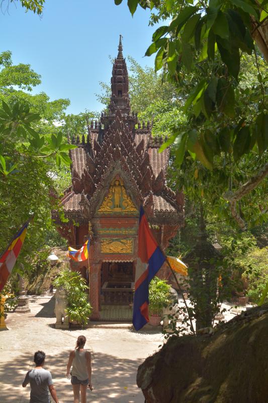 Temple shrine, near Kbal Spean