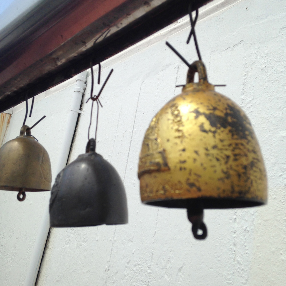 Bells, the Golden Mount temple