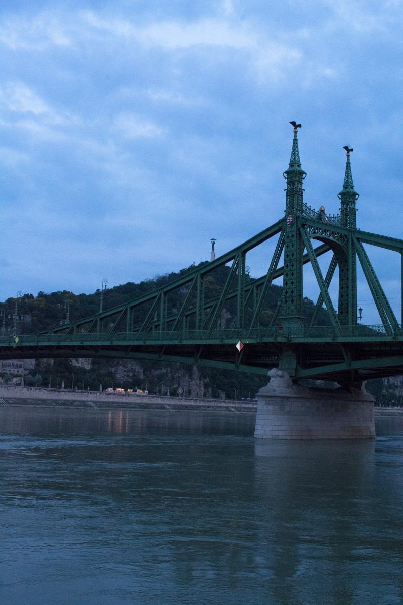 Dawn in Budapest