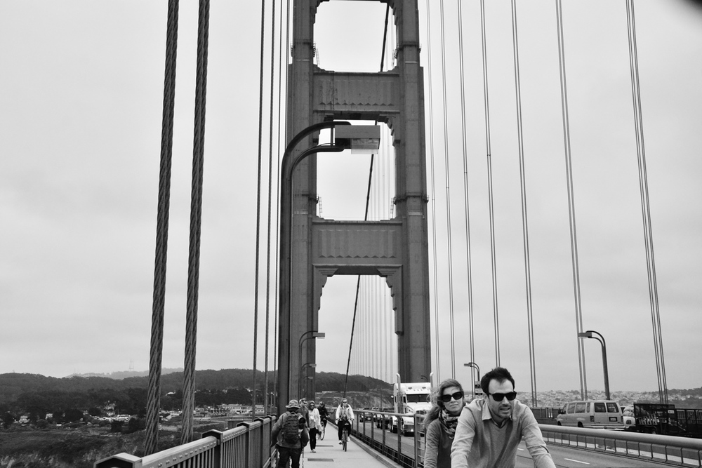 Tandem bicycle, Golden Gate Bridge