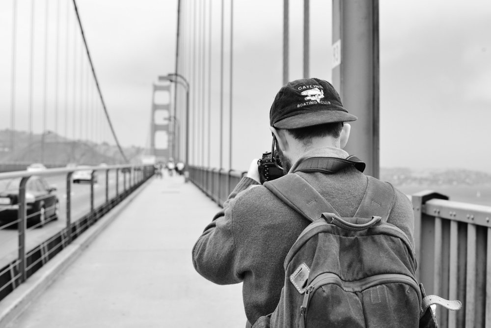 Mark, Golden Gate Bridge.