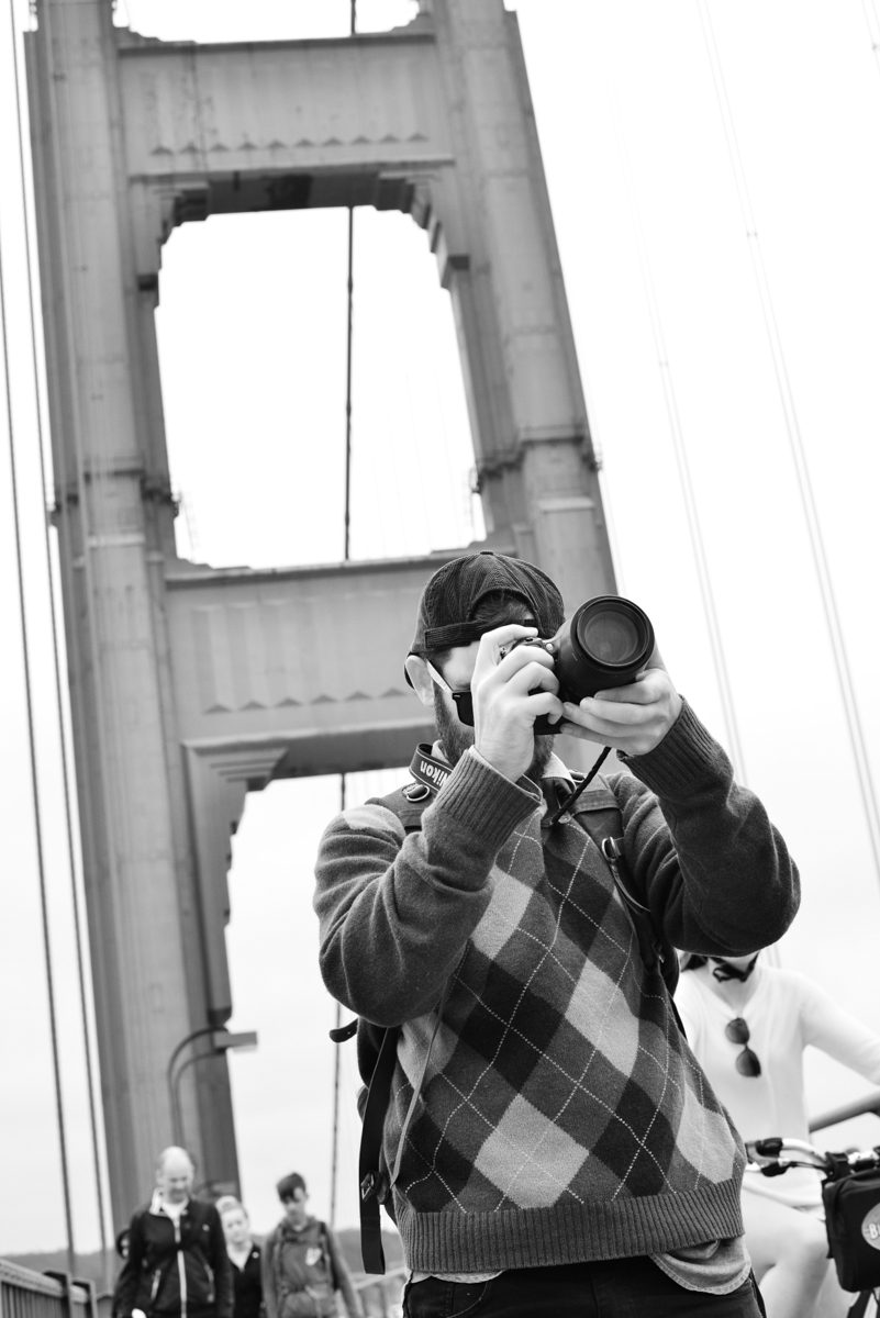 Mark filming