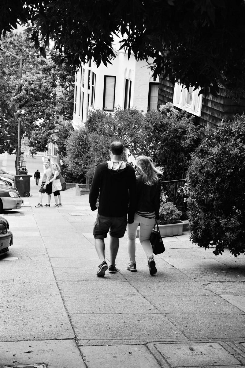 San Fran streets.