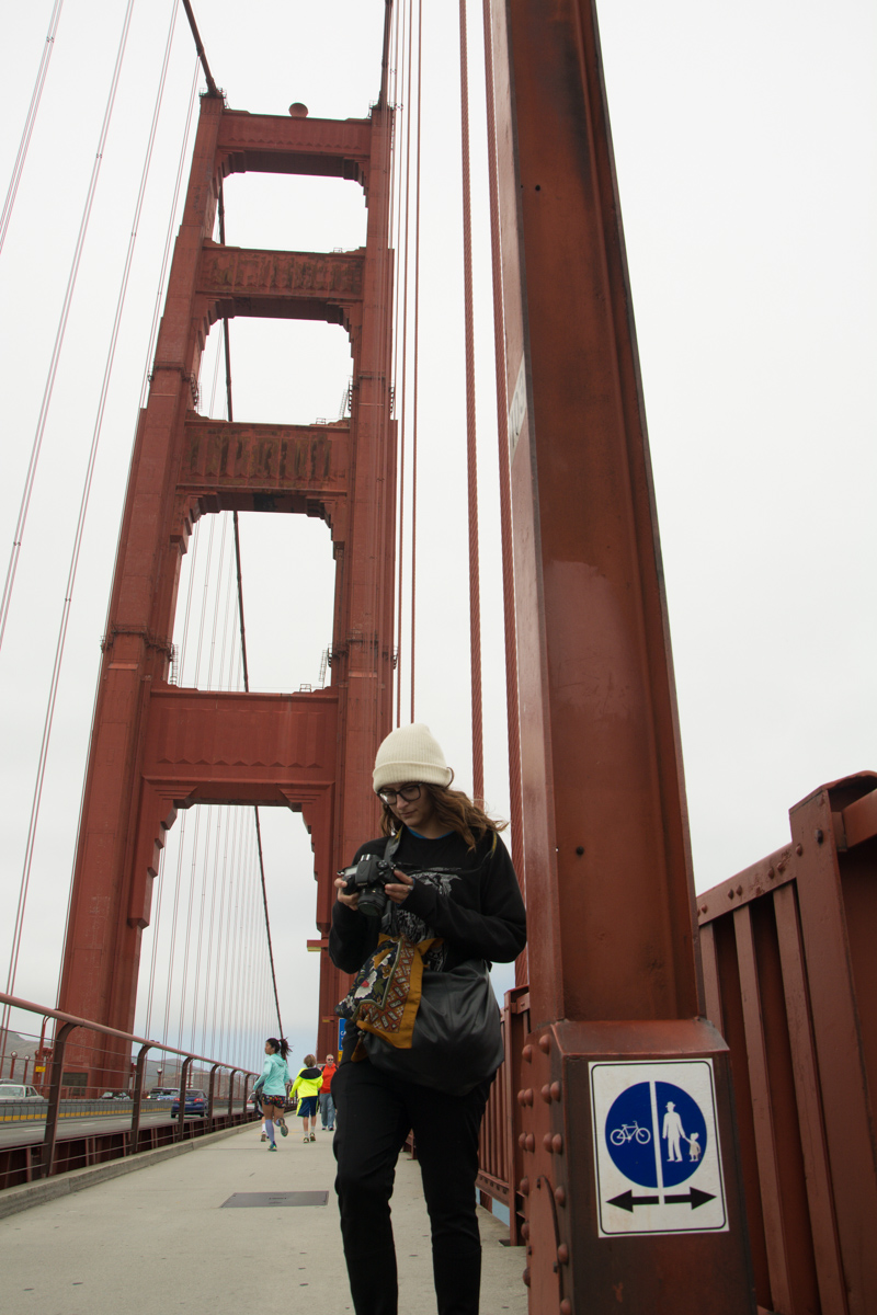 Sophi, Golden Gate Bridge