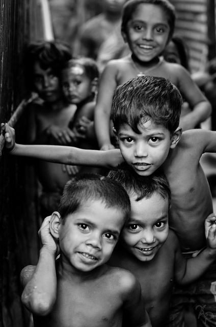 I didn't take this photo, but I find it INCREDIBLE!!   What a stunning shot of these children.