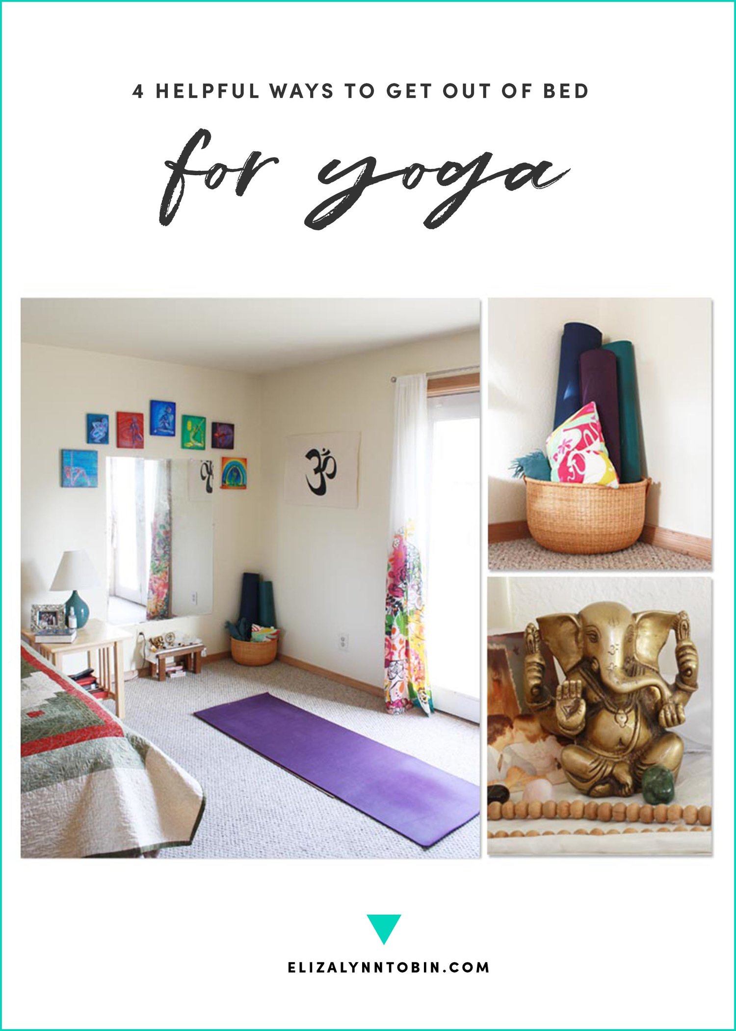 4 Helpful Ways To Get Out Of Bed For Yoga My At Home Yoga Space