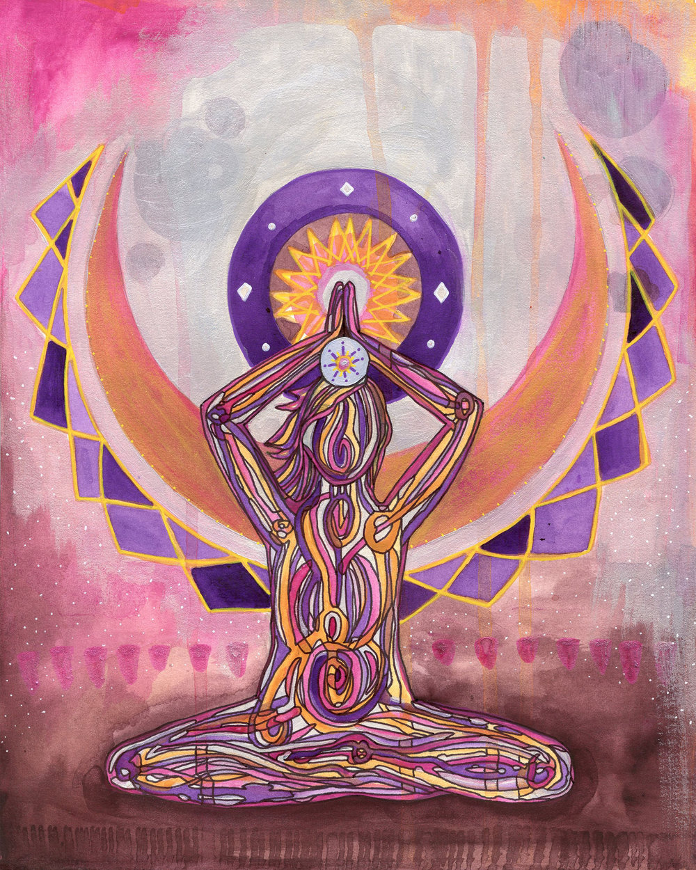 The Creative Chakra Salon - A 7 WEEK PAINTING JOURNEY THROUGH THE CHAKRASDo you crave a creative painting practice that feels free, juicy, fun + magical?