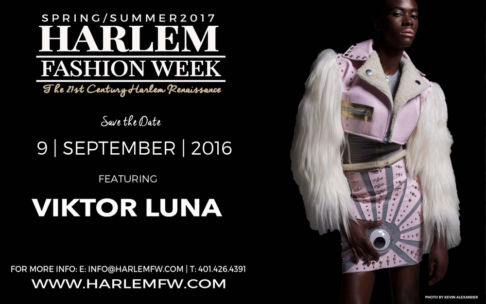 Harlem Fashion Week will be an explosion of culture that will bridge the Downtown fashion hub to the Uptown vibe for a rich community experience.  Our goal is to produce an event that will showcase the fashion industry, provide business education for emerging designers, grow Harlem businesses, create a cultural platform and just have fun!