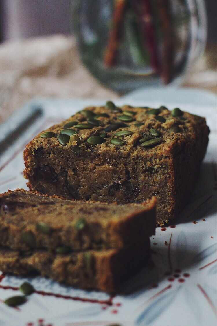 Banana, Pumpkin & Date Bread #glutenfree #dairyfree #foodbymars
