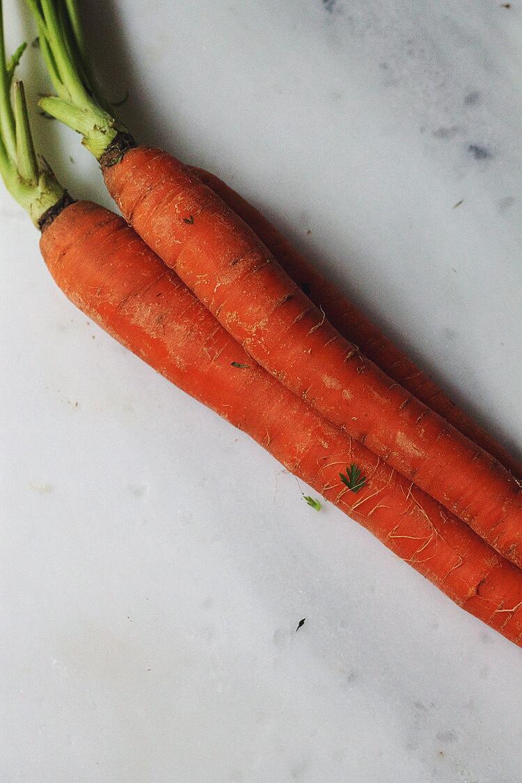 Saffron-Ginger Carrot Soup #foodbymars #vegan #glutenfree #dairyfree