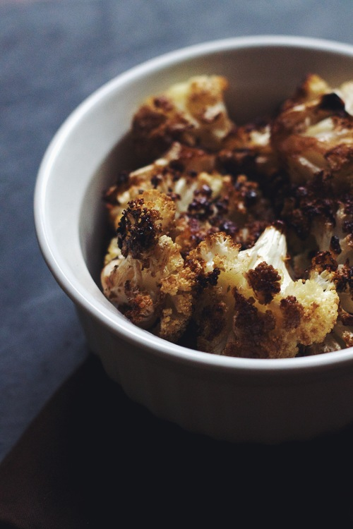 balsamic roasted cauliflower via food by mars