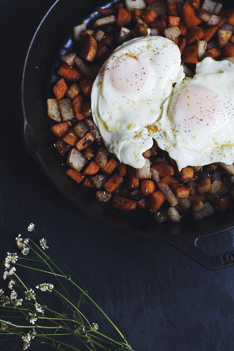 Sweet Cinnamon Root Vegetable Hash #foodbymars #vegan #cleaneating #glutenfree #breakfast