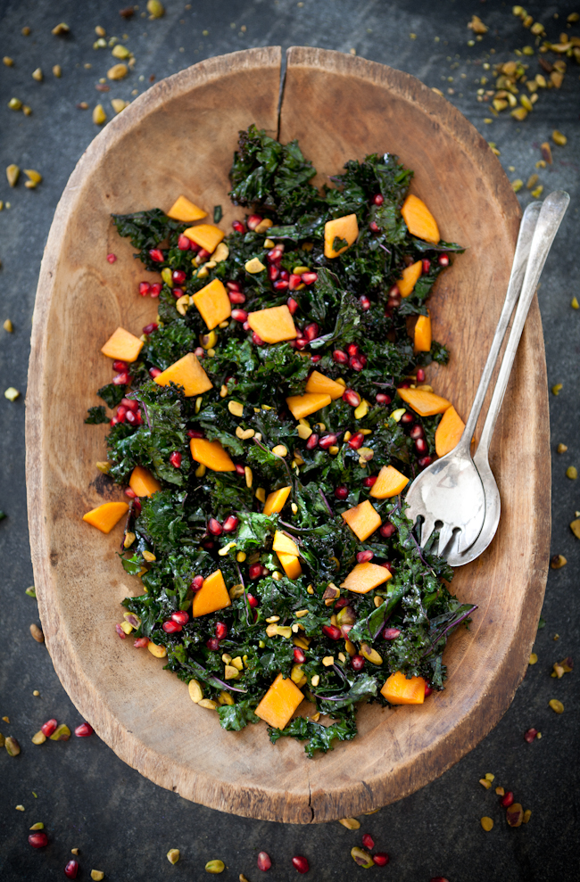 Yummy Suppers' MASSAGED KALE SALAD
