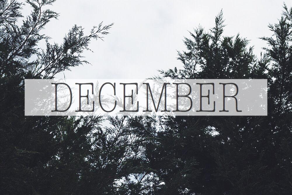 December Forecast #foodbymars